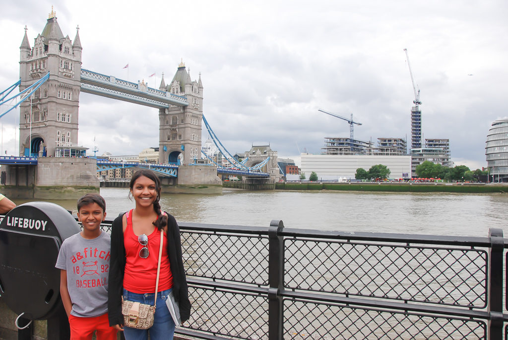 London Bridge - Top things to do in London with Kids Photo by Outside Suburbia