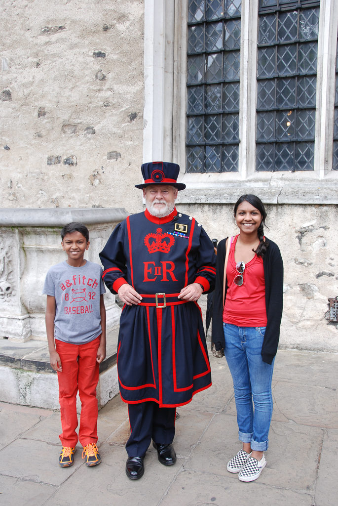 Beefeaters at the Tower of London Photo by Outside Suburbia