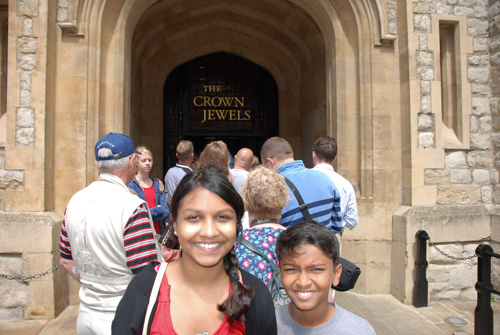 The crown jewels at the Tower of London Photo by Outside Suburbia