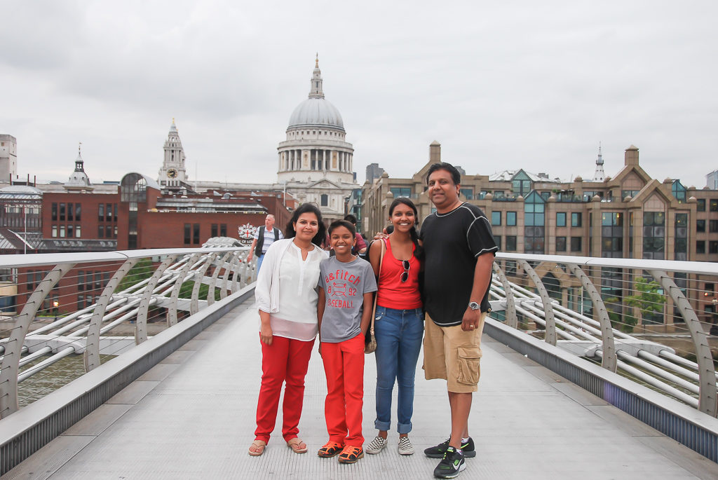 Millennium Bridge - Top things to do in London with Kids Photo by Outside Suburbia