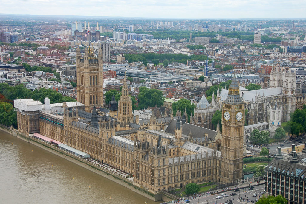 View from the London Eye -Top things to do in London with Kids Photo by Outside Suburbia