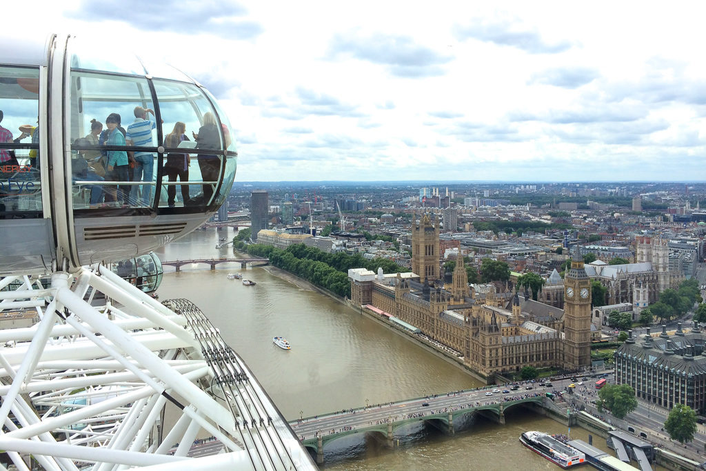 London Eye -Top things to do in London with Kids Photo by Outside Suburbia