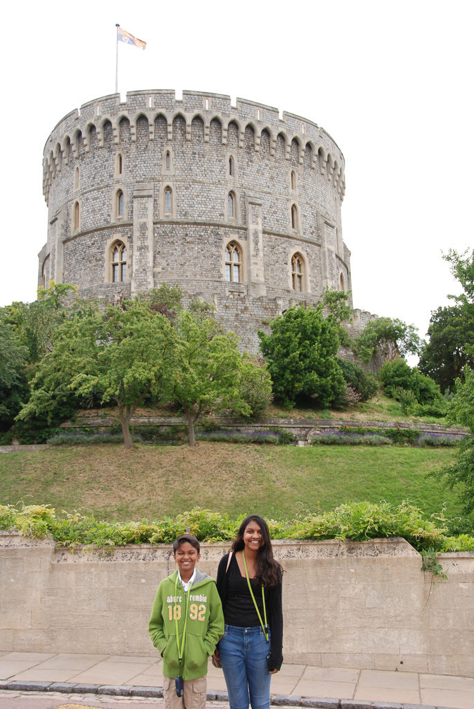 How can you tell if the Queen is at Windsor Castle? A day trip from London Photo by Outside Suburbia