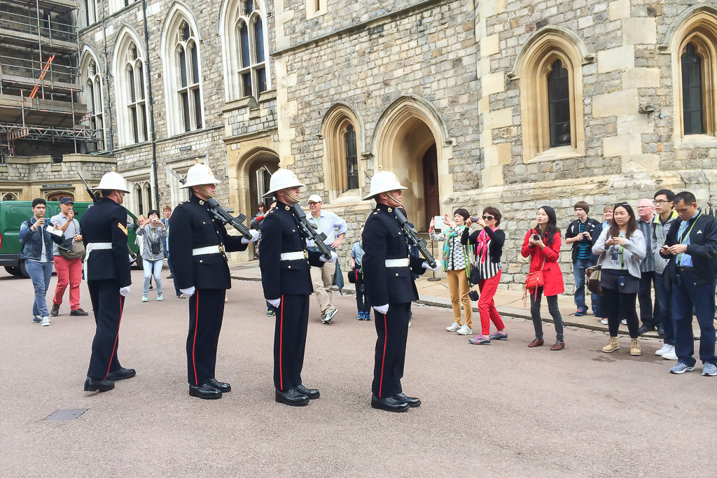 Change of Guard, Windsor Castle, A day trip from London Photo by Outside Suburbia