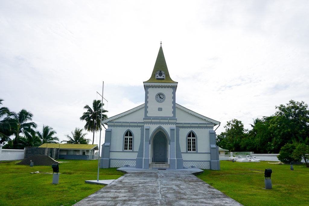 Photo Blog - Churches in Moorea - Photo by Outside Suburbia