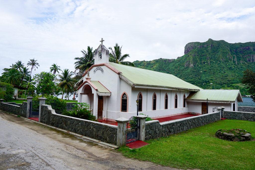 Photo Blog - Moorea Church - Photo by Outside Suburbia