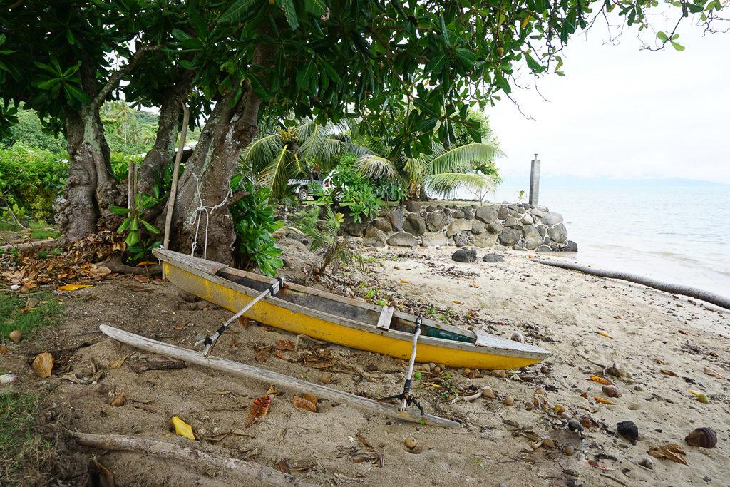 Taahiamanu beach, Moorea - Photo by Outside Suburbia