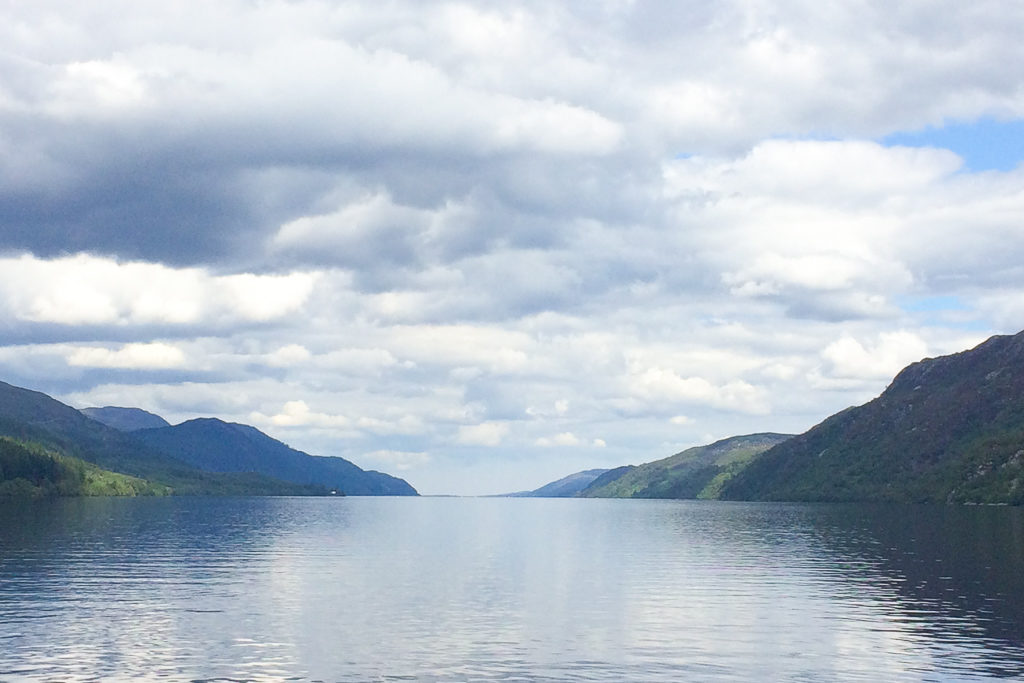 Do you see Nessie? Looking for Nessie in Loch Ness #Scotland #LochNess