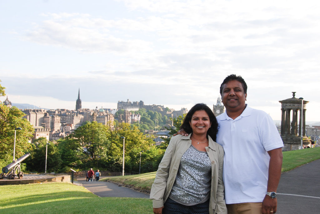 Calton Hill, one of Edinburgh's best view points. Things to do in Scotland Photo by Outside Suburbia