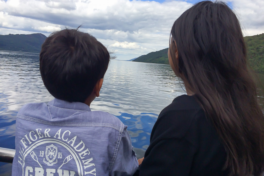 Looking for Nessie in Loch Ness #Scotland #LochNess