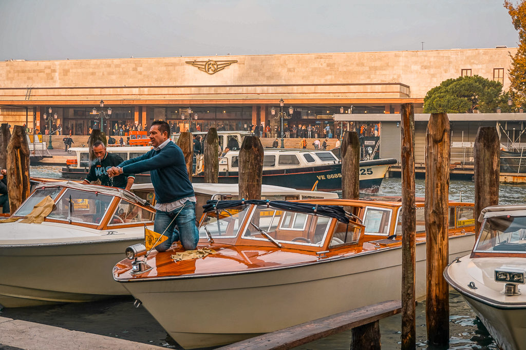 Boats in Venice, Photo by Outside Suburbia
