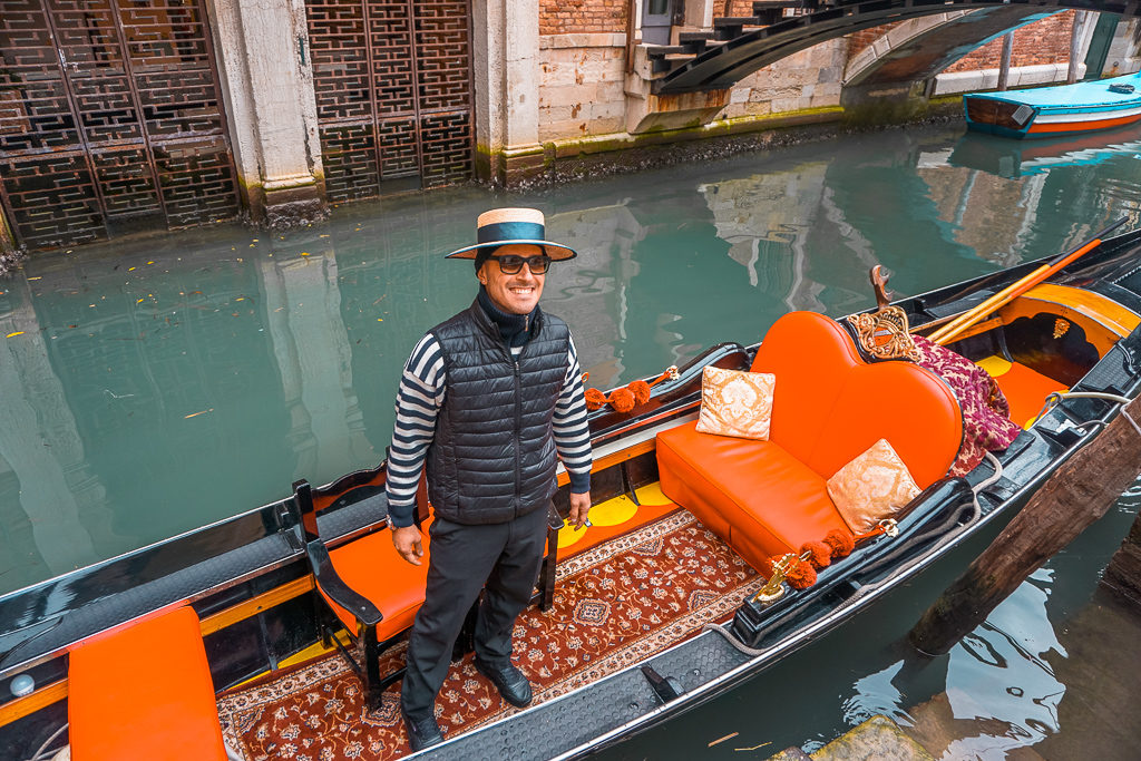A gondola ride in Venice - Photo by OutsideSuburbia