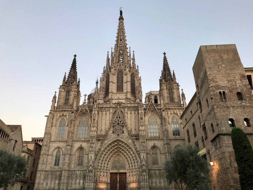 Barcelona Cathedral. Things to do in Barcelona with Kids Photo by Outside Suburbia