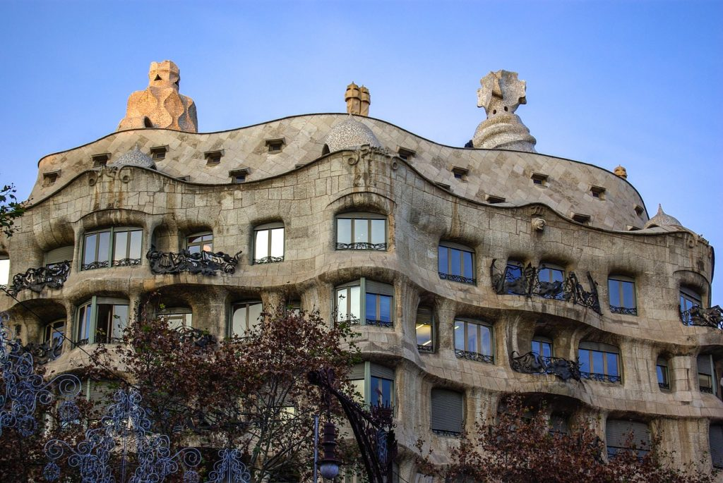 Casa Mila. Things to do in Barcelona with Kids Photo by Outside Suburbia