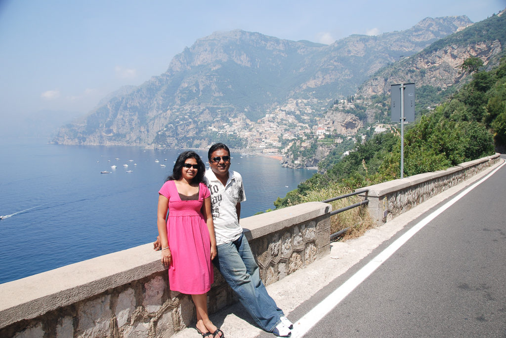 A stop along the Amalfi Coast Road Trip - Photo by Outside Suburbia