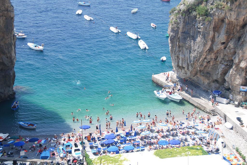 Cliffs, Colorful villages and Giant Lemons On the Amalfi Coast Road Trip- Photo by Outside Suburbia