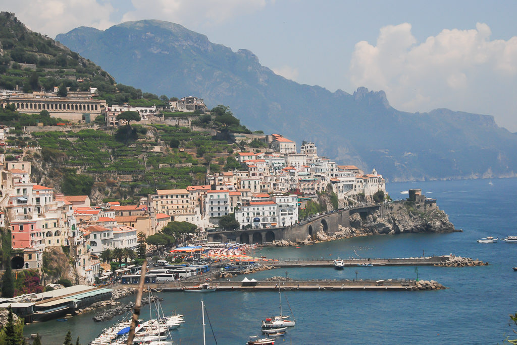 Amalfi, Italy - Amalfi Coast Road trip, Photo by Outside Suburbia