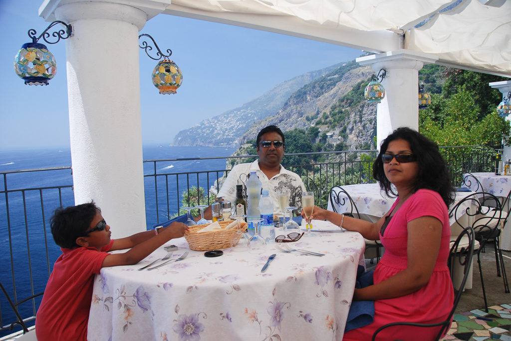 Calajanara, Amalfi Coast Restaurant and bar - One of the best views on the Amalfi Coast Drive