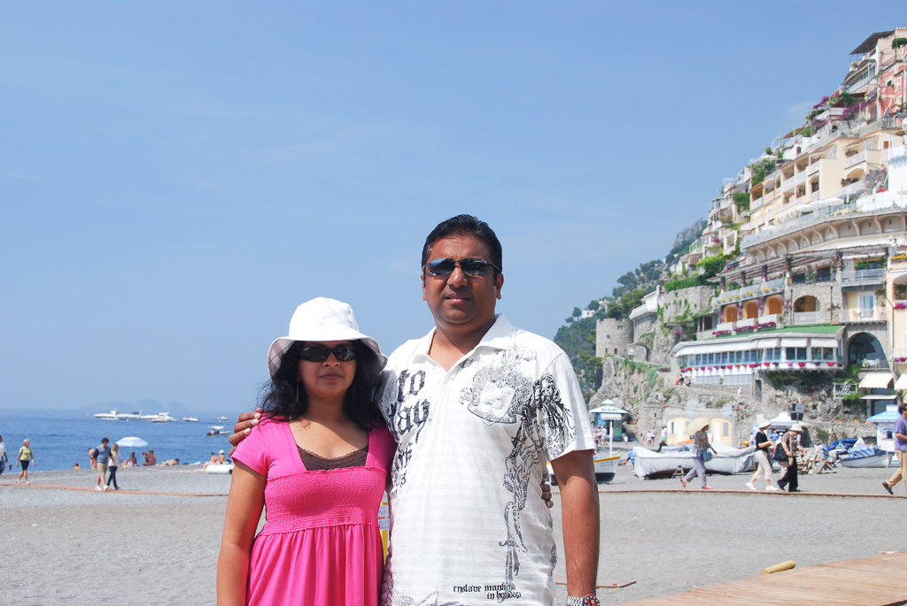 A stop at Positano, Italy - Photo by Outside Suburbia