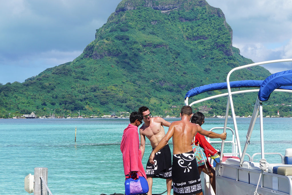 ultimate private island experience in Bora Bora - Photo by OutsideSuburbia.com