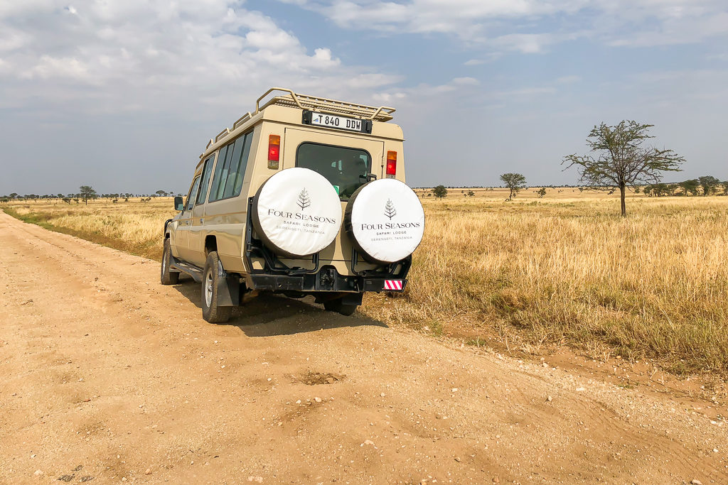 Safari Game Drives. Four Seasons Safari Lodge Serengeti Review - Photo by Outside Suburbia