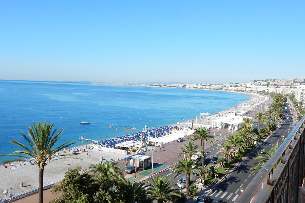French Riviera Views from the Hotel in Nice - Photo by Outside Suburbia