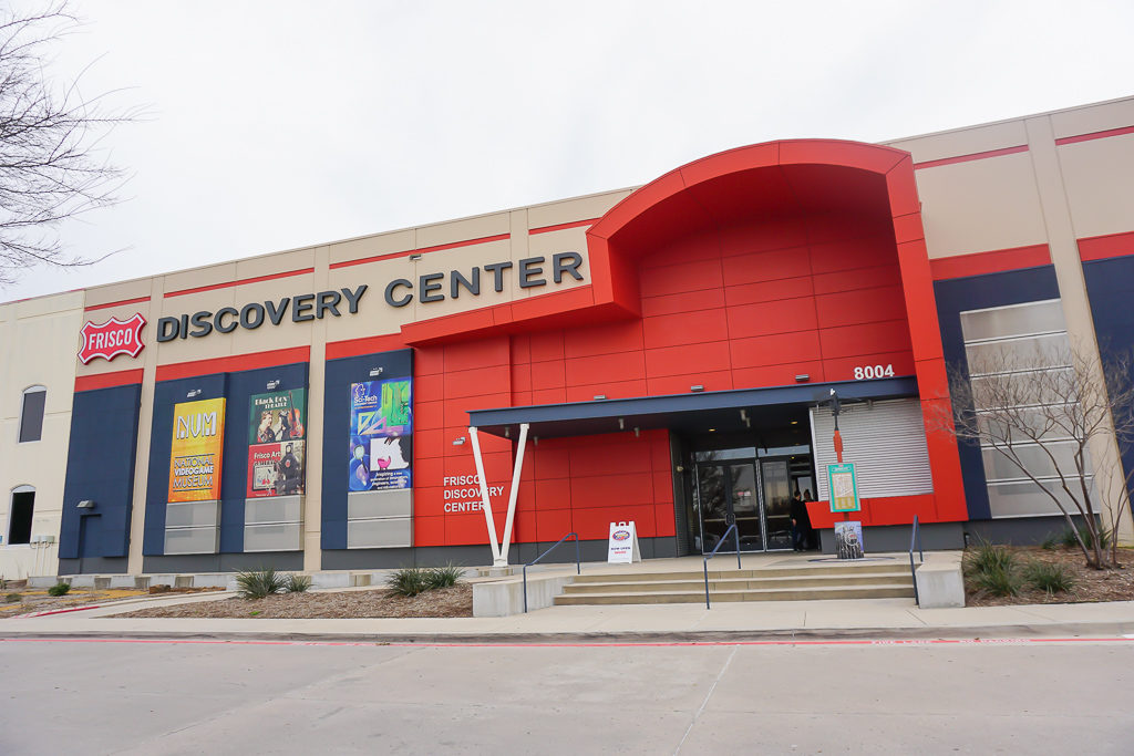 Frisco Discovery Center, Frisco, Texas Photo by Outside Suburbia