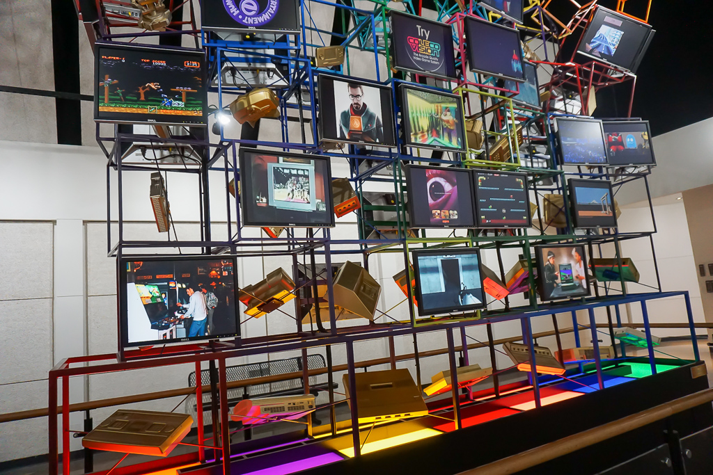 National Video Game Museum, Frisco, Texas Photo by Outside Suburbia