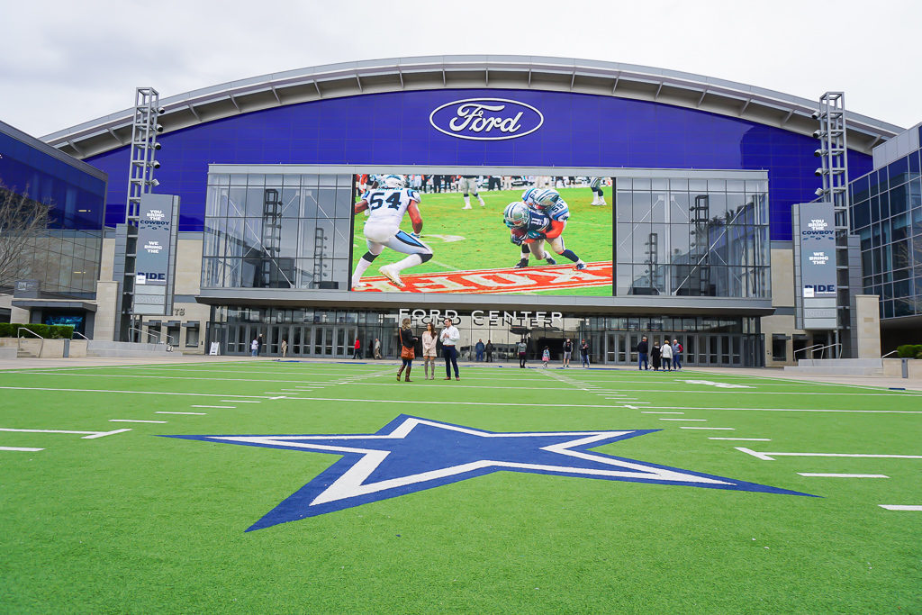 Dallas Cowboys fans will love visiting the Ford Star Center in Frisco