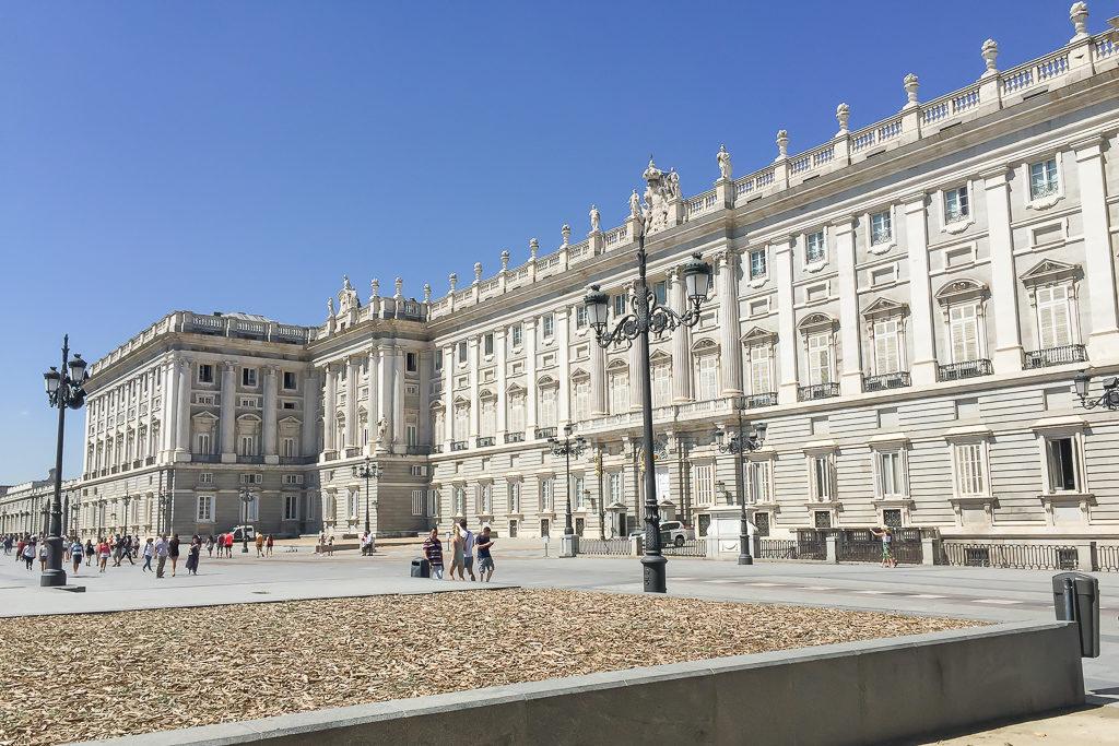 Royal Palace, Madrid Photo by Outside Suburbia