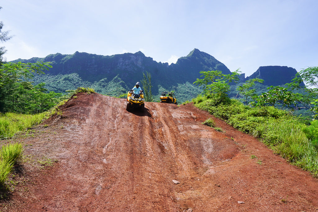 ATV Tour in the Mountains of Moorea - Photo by OutsideSuburbia.com