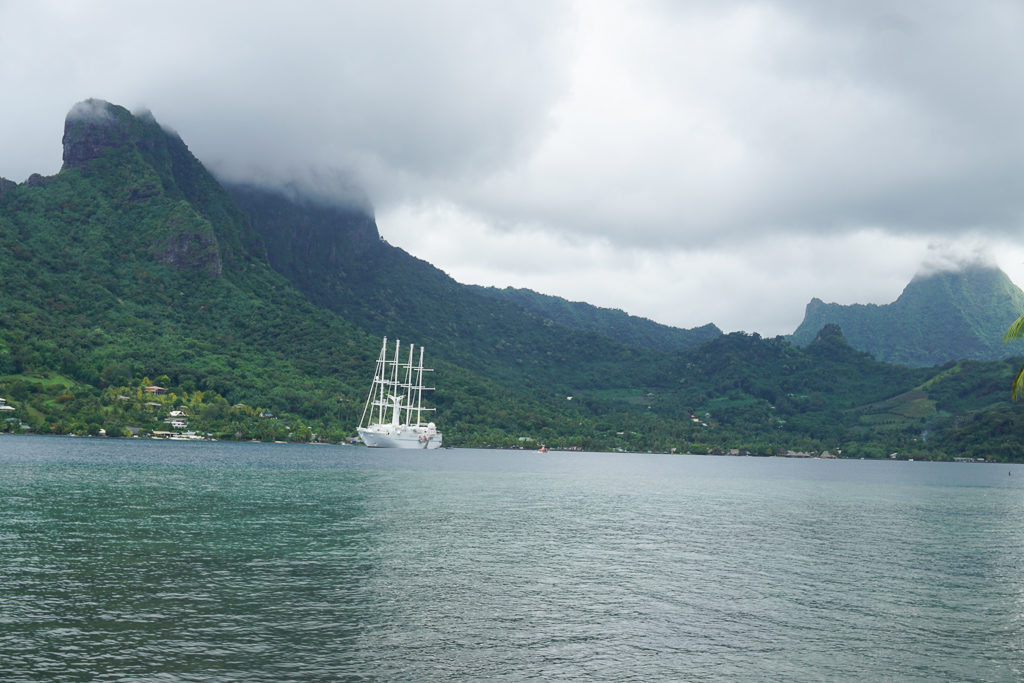 Windstar cruise Moorea, French Polynesia - Photo by Outside Suburbia