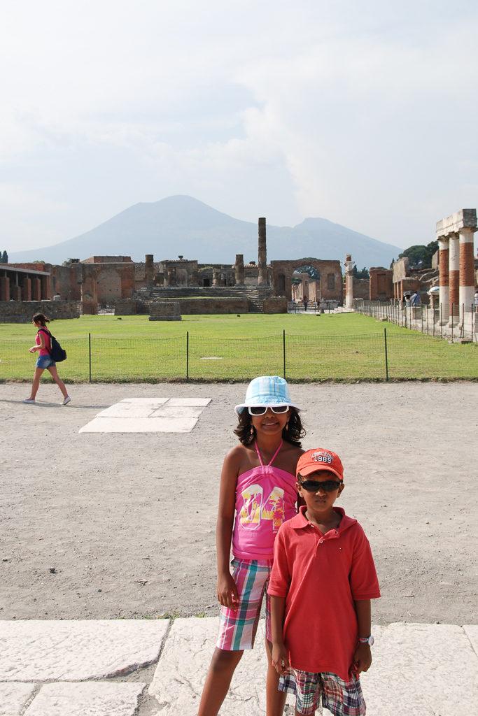 Vesuvius and Pompeii with Kids - OutsideSuburbia.com