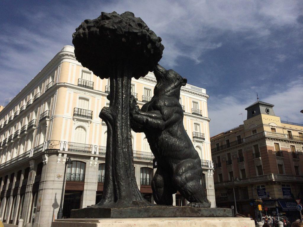 Bear at Puerta del Sol, Madrid