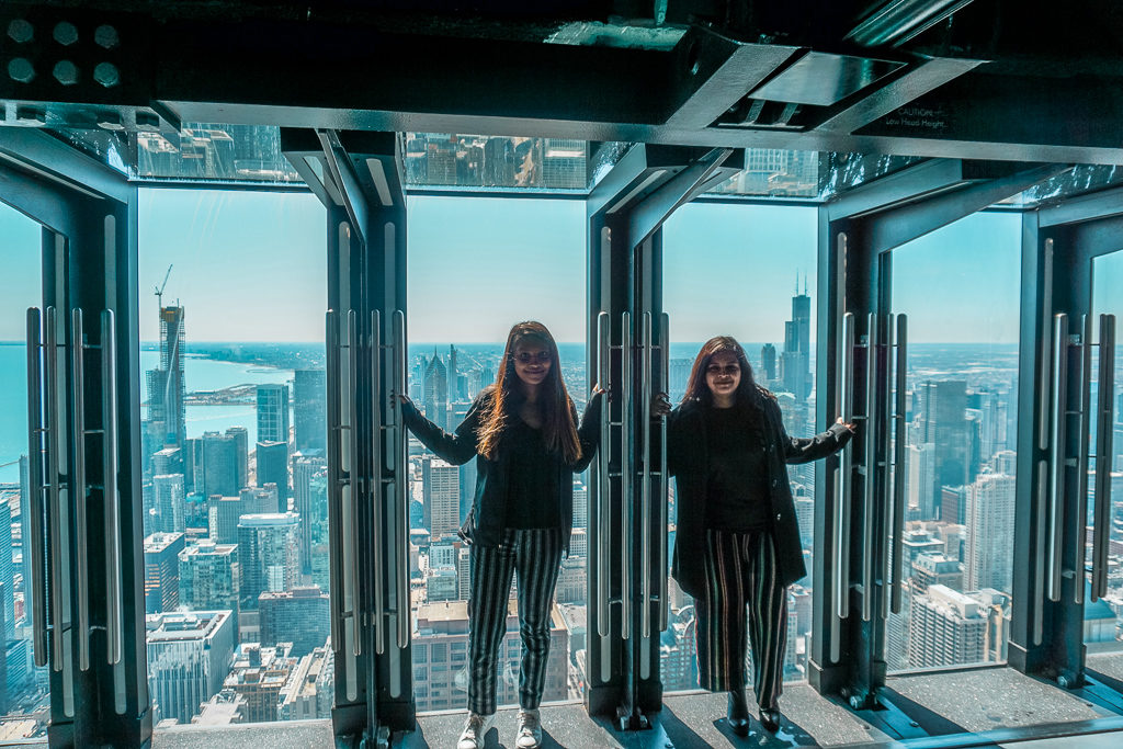 The Tilt at 360 Chicago - Things to do in Chicago on a girls' weekend - Outside Suburbia