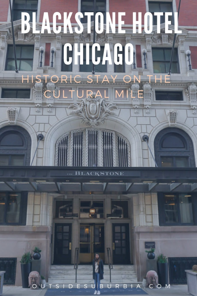 Chicago is an incredibly artistic city and what better way to explore it than from the historic Blackstone Hotel located on the cultural mile. #BlackstoneHotel #BlackstoneHotelChicago #CulturalMileChicago #ChicagoHotels