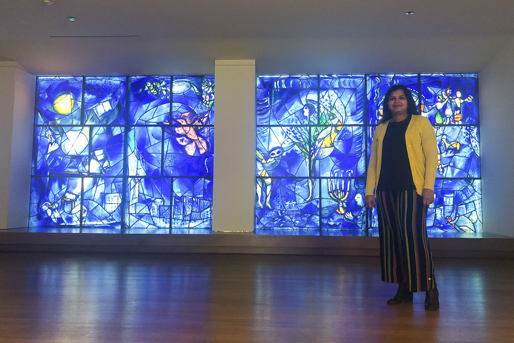 Chagall's America Windows in the Art Institute of Chicago