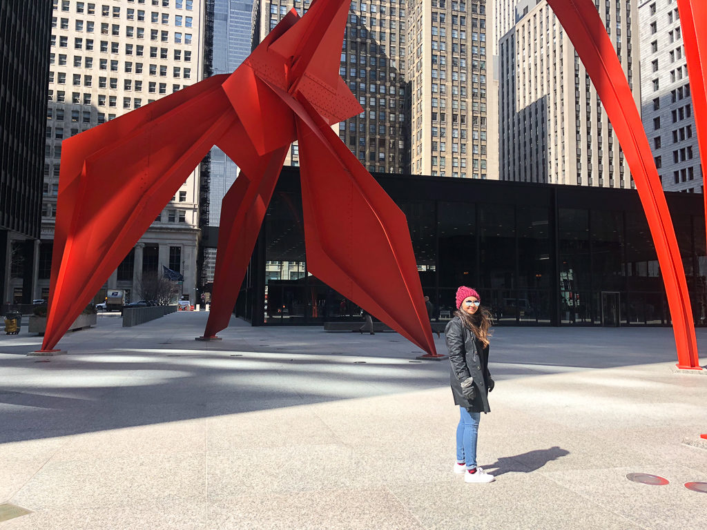 Alexander Calder's Flamingo, Chicago | Outside Suburbia