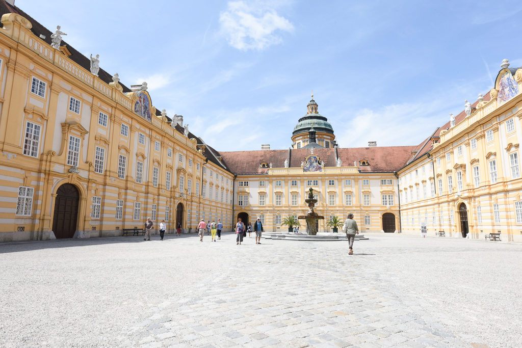 Melk Abbey - Best of Alps : A Road trip through Austria and Switzerland - Photo by Outside Suburbia