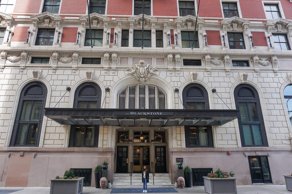 Blackstone Hotel Chicago - Photo by Outside Suburbia