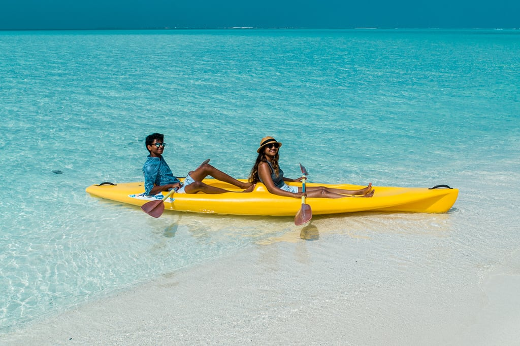 Water Activities at Taj Exotica Resort & Spa, Maldives