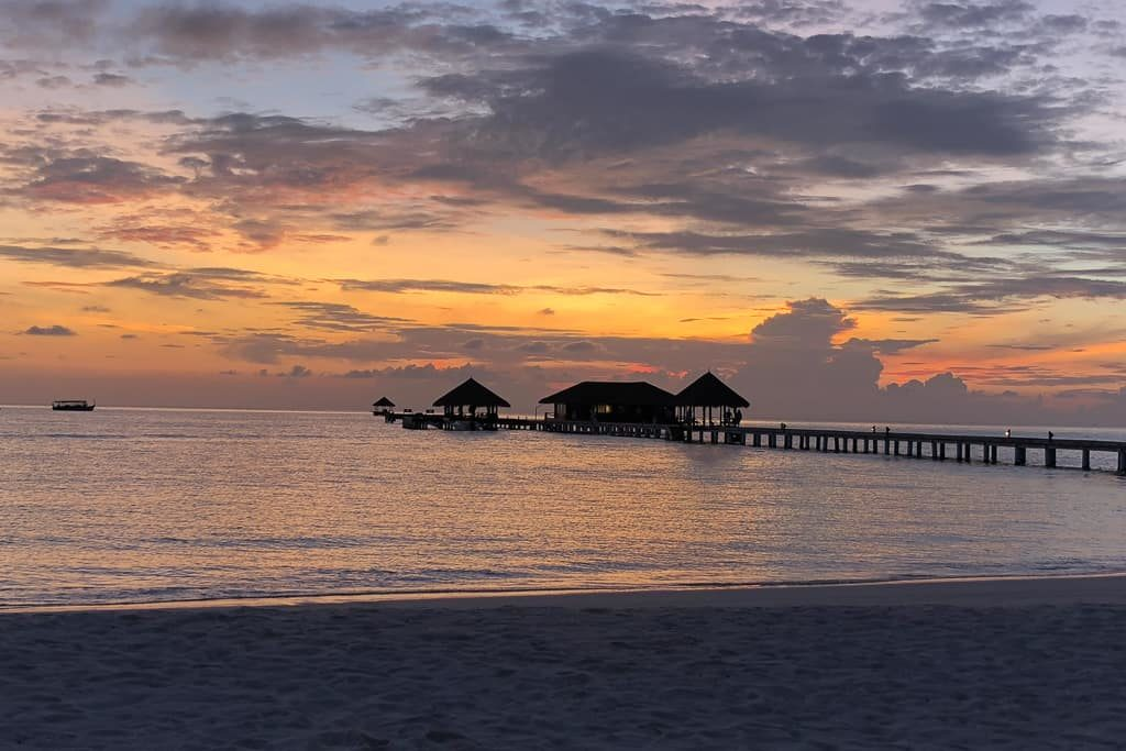 Sunsets at Taj Exotica Resort & Spa, Maldives