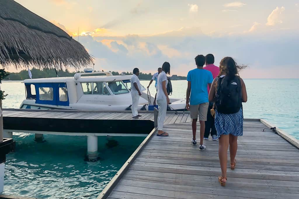 9 Reasons why we loved the Taj Exotica Resort & Spa, Maldives - Easy boat ride away