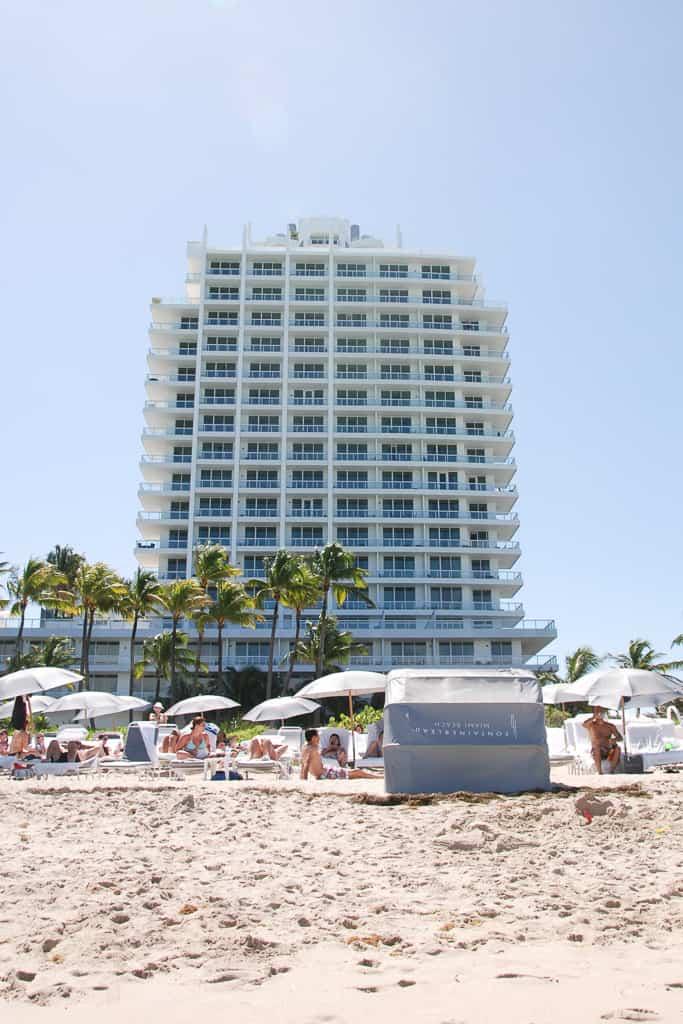 Sorrento Tower, Family Holiday at Fontainebleau, Miami Beach, Florida