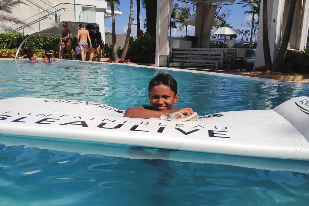 Family Holiday at Fontainebleau, Miami Beach, Florida