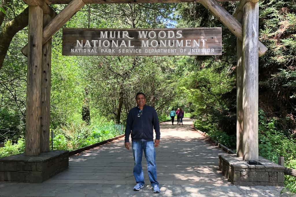 Muir Woods National Monument, part of California's Golden Gate National Recreation Area