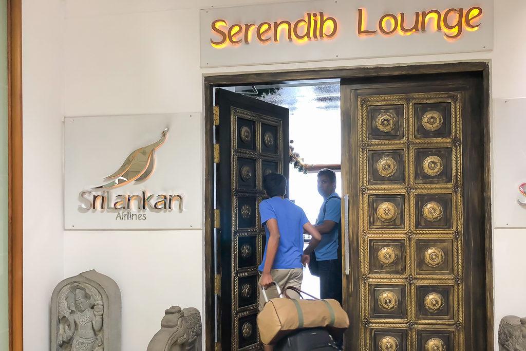 Serendib Lounge at Bandaranaike International Airport - Photo by Outside Suburbia