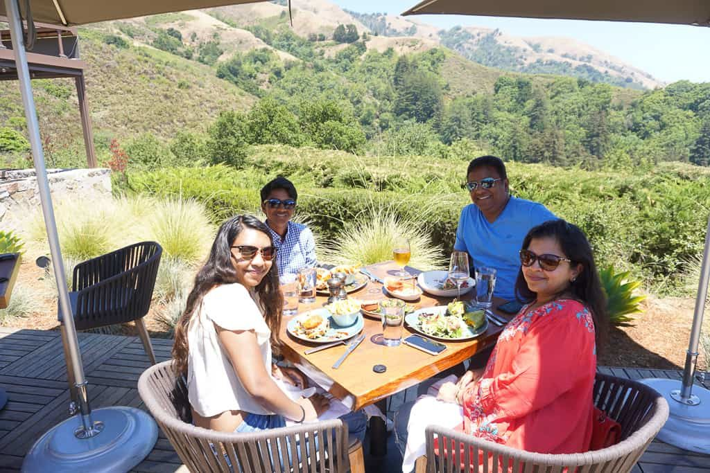 Lunch at Sur House, Ventana Big Sur Glampsite in California - OutsideSuburbia.com