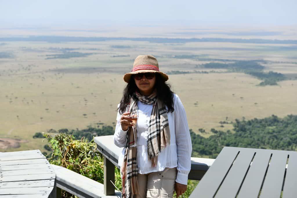 How incredibe is this view - Luxury Family Safari Experience at Angama Mara, Kenya Photo by Outside Suburbia