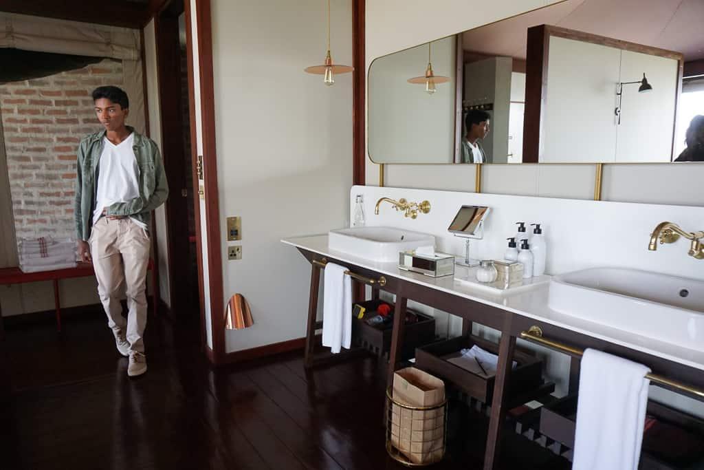 Bathroom - Luxury Family Safari Experience at Angama Mara, Kenya Photo by Outside Suburbia